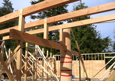 Tidewater Timber Frames_Ayre Residence