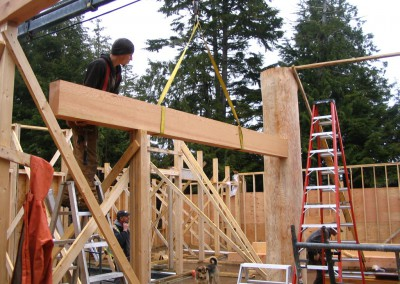 Ayre Residence_Raising Beams