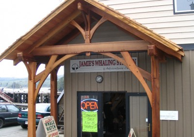 Jamies Whaling Station Entrance_Ucluelet 2