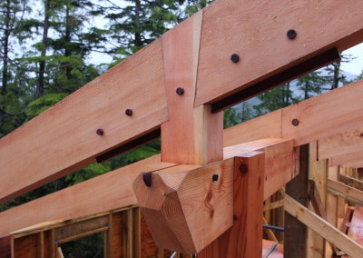 Off Grid Forest Home_Framing Detail 2