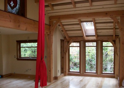 Timber Frame Home 1