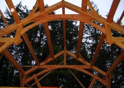 Tofino Home_Timber Frame